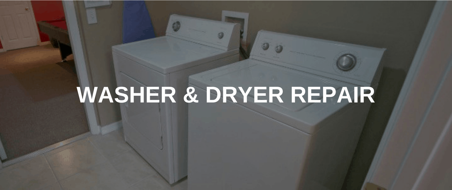 washing machine repair peoria