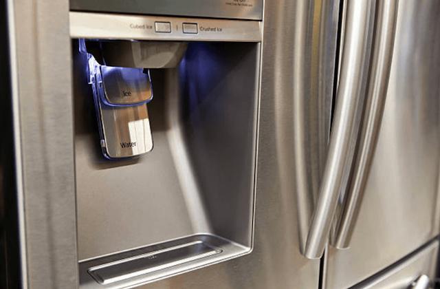 broken refrigerator water dispenser image